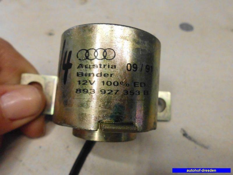 Sonstiges Teil Elektromagnet SchaltbetätigungAUDI 80 (89, 89Q, 8A, B3) 1.8 S