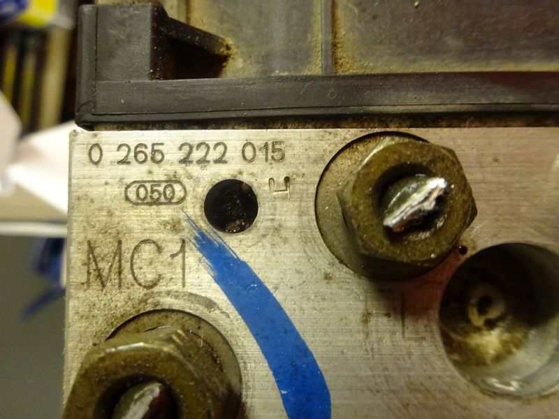 ABS Steuerblock FORD MONDEO III KOMBI (BWY) 1.8 16V