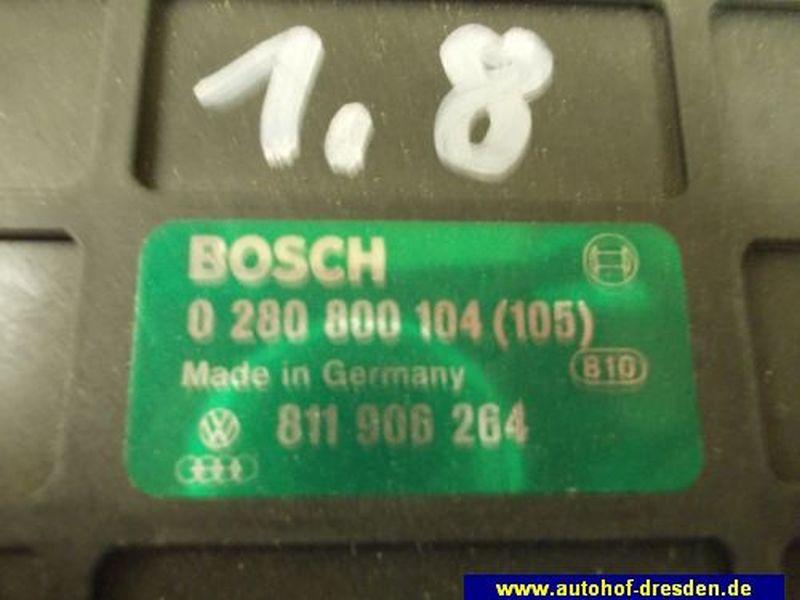 Steuergerät Motor 811906266AUDI 80 (89, 89Q, 8A, B3) 1.8 S