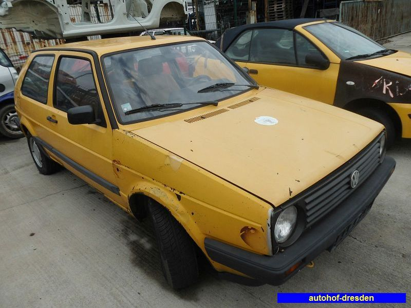 VW GOLF II (19E, 1G1) 1.6 D